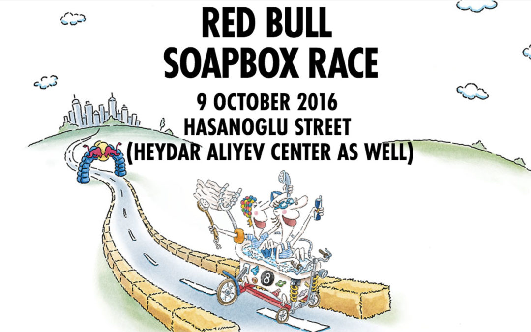 Fun and creativity at Redbull Soapbox Race 2016 in Baku