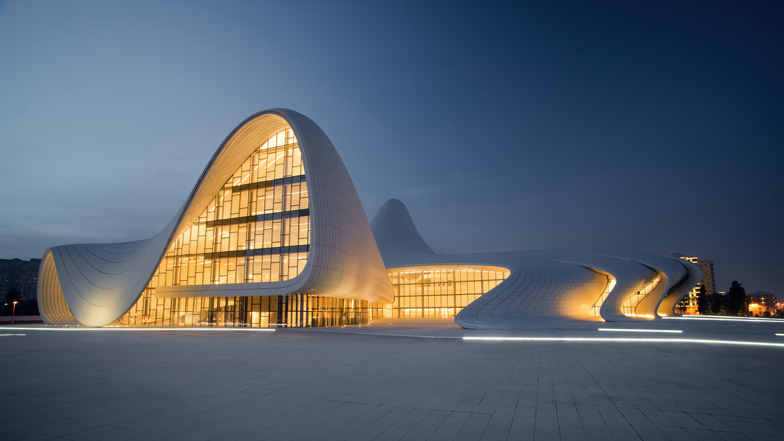 The Heydar Aliyev Center: fluidity of shapes and representation of the new Azerbaijan
