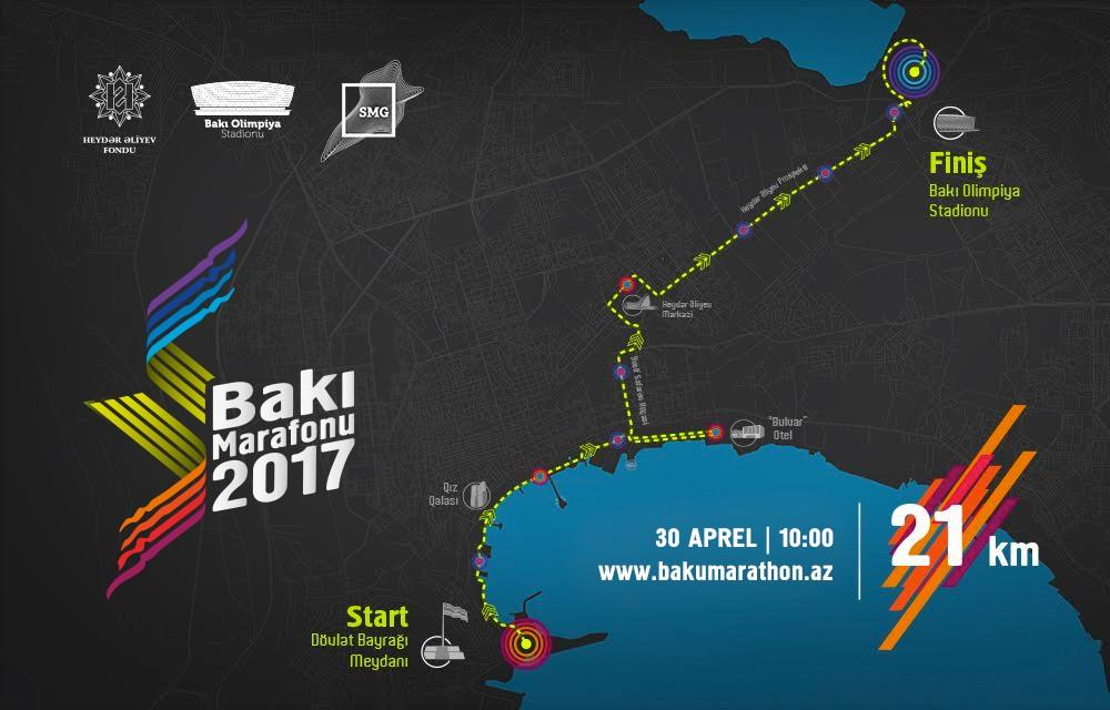 The 2nd Baku Marathon 2017