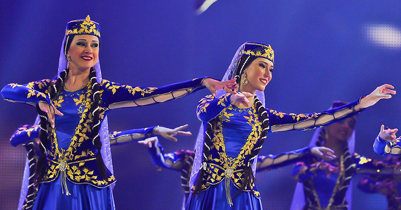 The dancing art of Azerbaijan