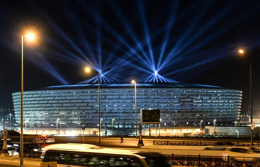 Contemporary architecture in Azerbaijan: Baku Olympic Stadium