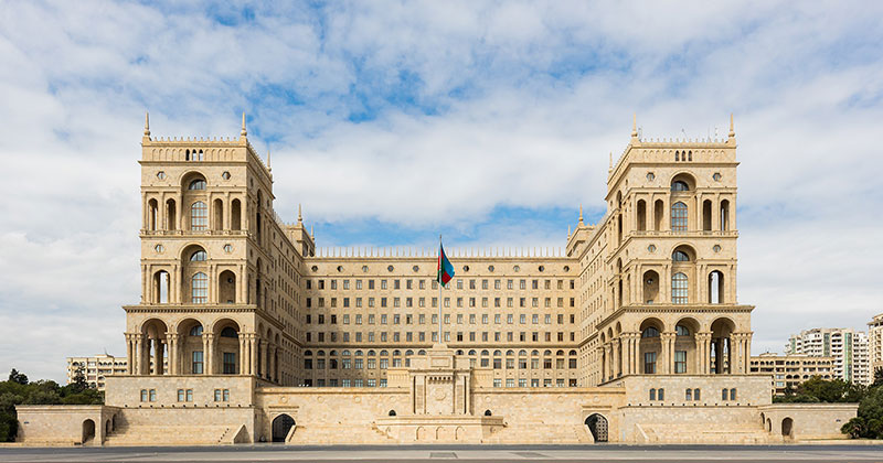 The architecture of Azerbaijan: The Government House
